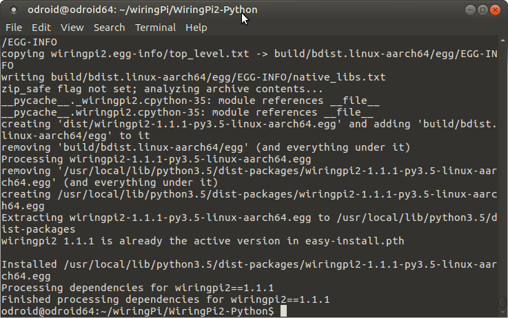 wiringpi build output.png