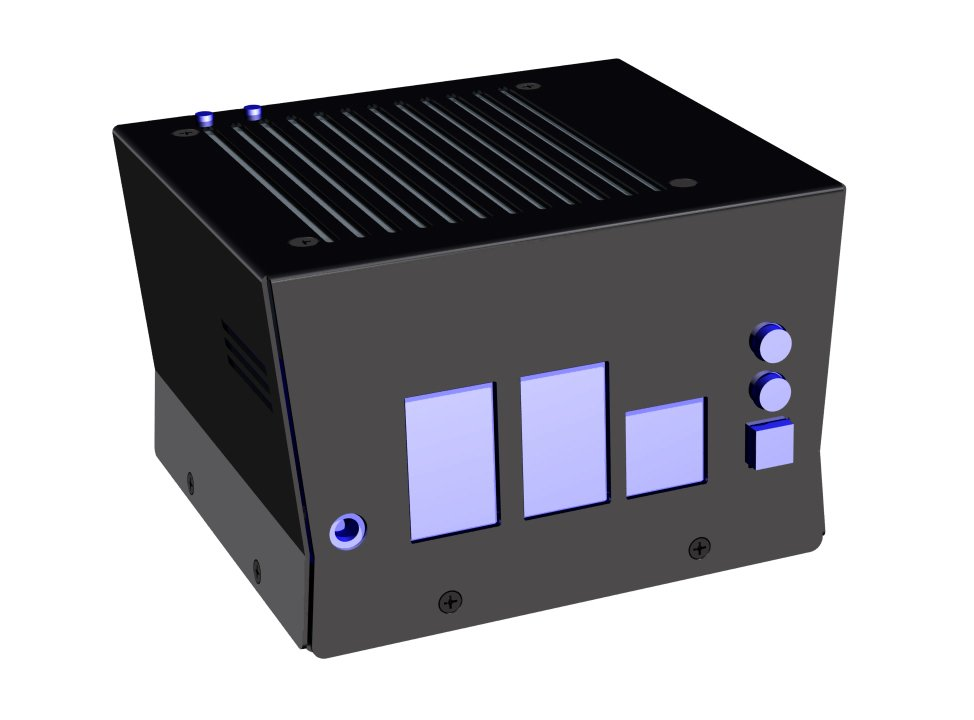 View of the KKSB Odroid H2 Case.